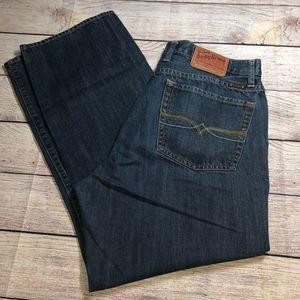 Lucky Brand Miner Straight Leg Jeans Sz 36